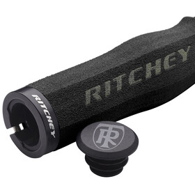 Ritchey WCS Ergo True Grip Cykelhåndtag Lock-On sort
